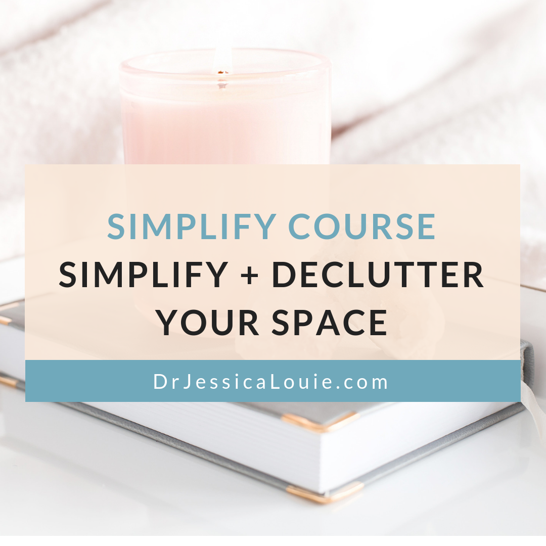 Simplify Course, Declutter your Home, KonMari your home, online course, Certified KonMari Consultant Los Angeles, How to start, step-by-step audio and videos, workbook, maintenance after decluttering, bonus items